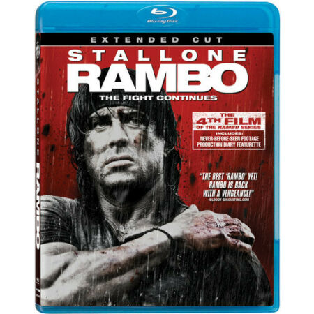 img-Rambo [Extended Cut] (2010, REGION A Blu-ray New) BLU-RAY/WS/Extended