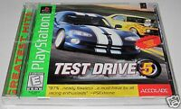 Test Drive 5 (Sony PlayStation ) ..New- SeaLeD!! VHTF Sealed!