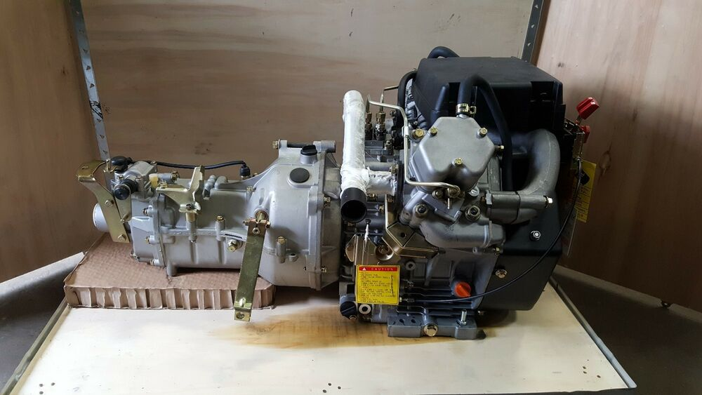 Diesel engine v twin brand new air cooled with 4 speed for New motor and transmission