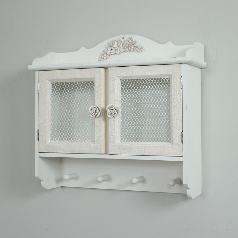 shabby chic bathroom cabinets wall detailed wall cabinet shabby chic vintage 24094