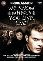 We Know Where You Live (DVD, 2001) 1p start