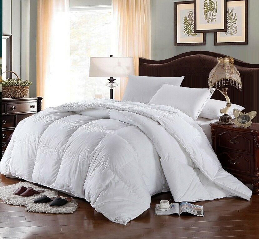 Four Seasons Down Alternative White Comforter And 3 Piece