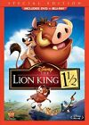 The Lion King 1 1/2 (Blu-ray DVD, 2012, 2-Disc Set, SPECIAL EDITION) Disney