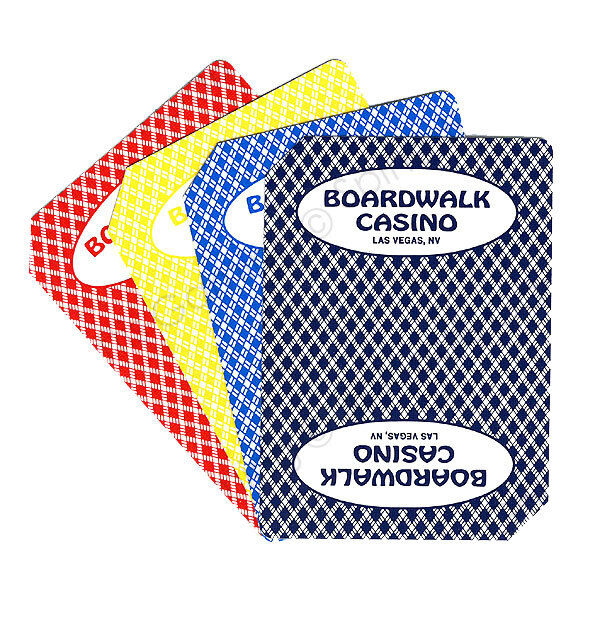 Palms Casino Playing Cards (Playboy Red) Toys & Games