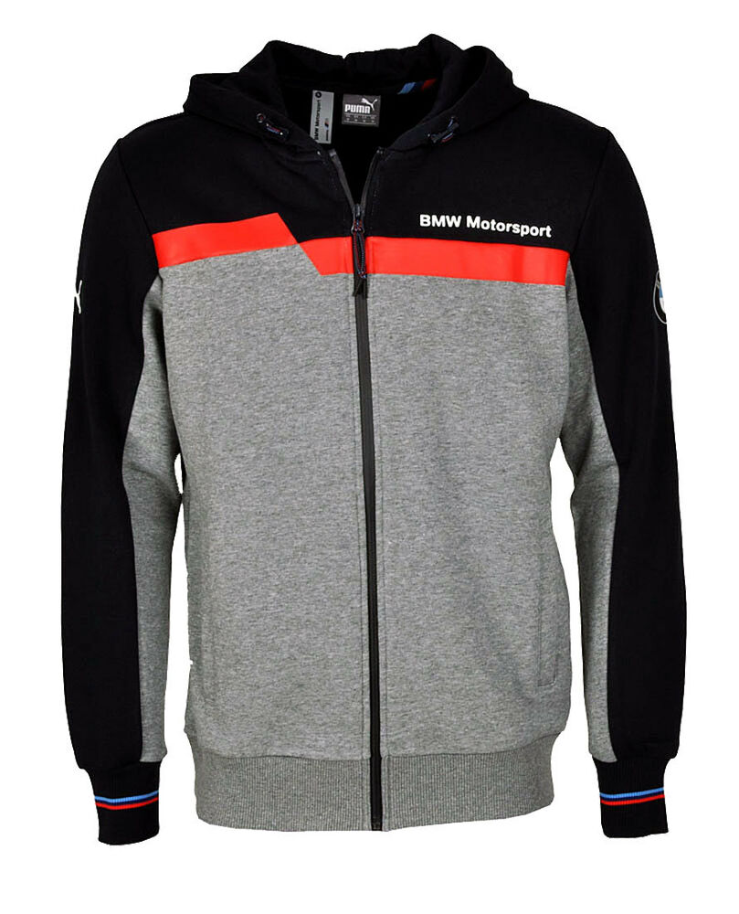 puma bmw msp motorsport kapuzenjacke hooded hoodie sweat. Black Bedroom Furniture Sets. Home Design Ideas