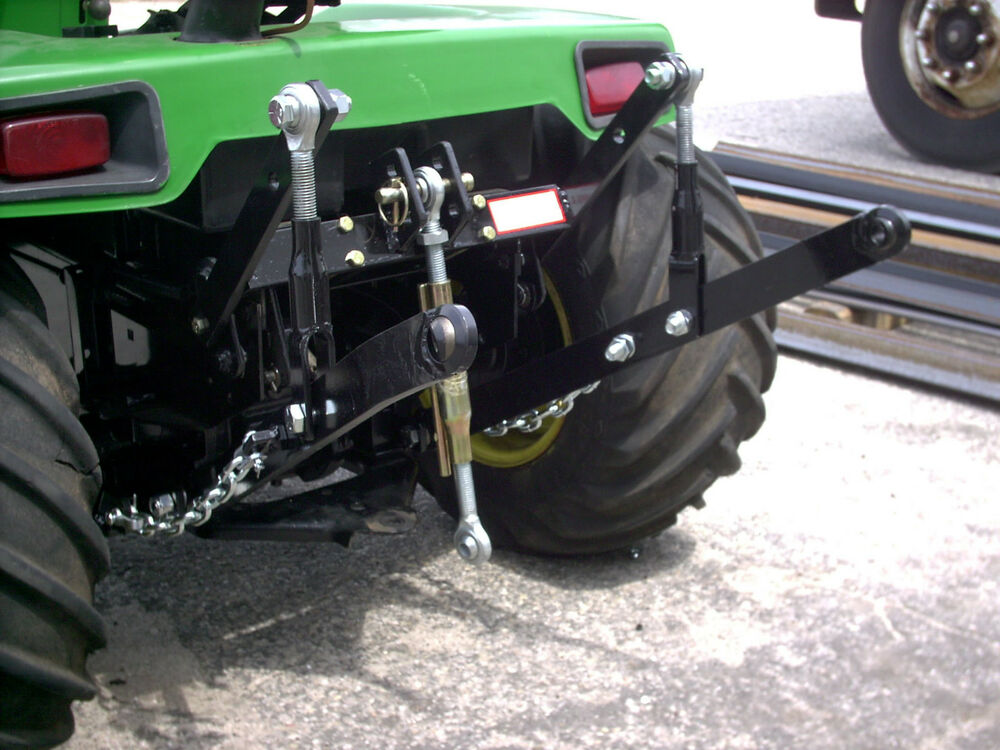 Garden Tractor 3pt Hitch : Point hitch kit for john deere