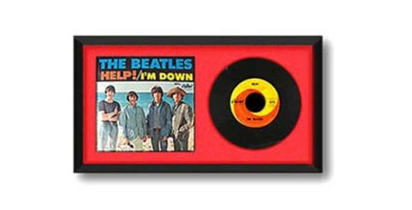 hobby frames 45 rpm 7 record vinyl cover display frame black ebay