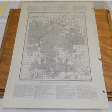 1912 Collier's City Map////DENVER, COLORADO