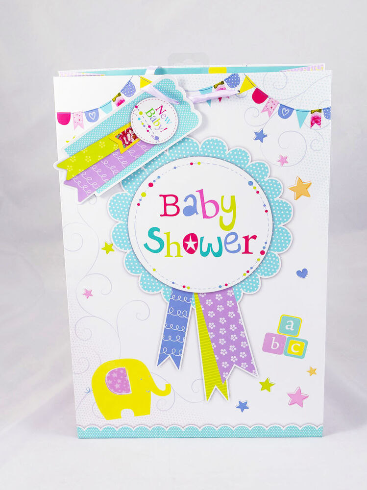 Baby Gift Sack : Baby shower gift bag large