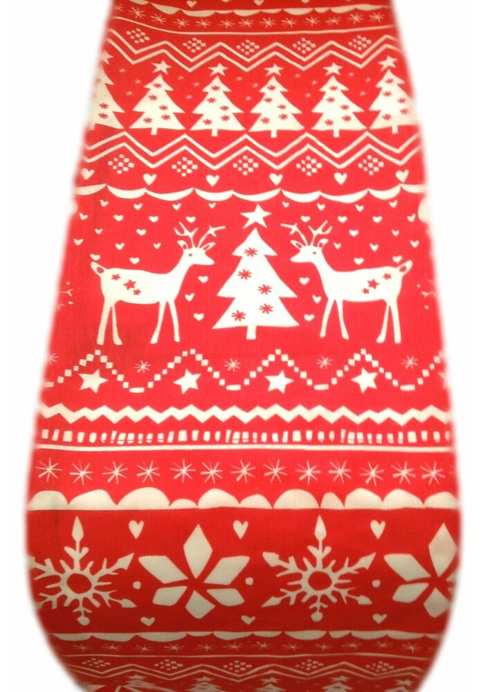NORDIC TABLE RUNNER CHRISTMAS STAGS REINDEER cream red  : s l1000 from www.ebay.co.uk size 546 x 1000 jpeg 82kB