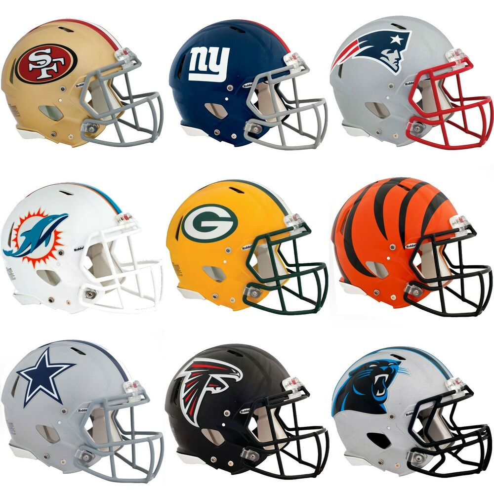 nEw 3pc NFL FOOTBALL TEAM HELMET WALL STICKERS