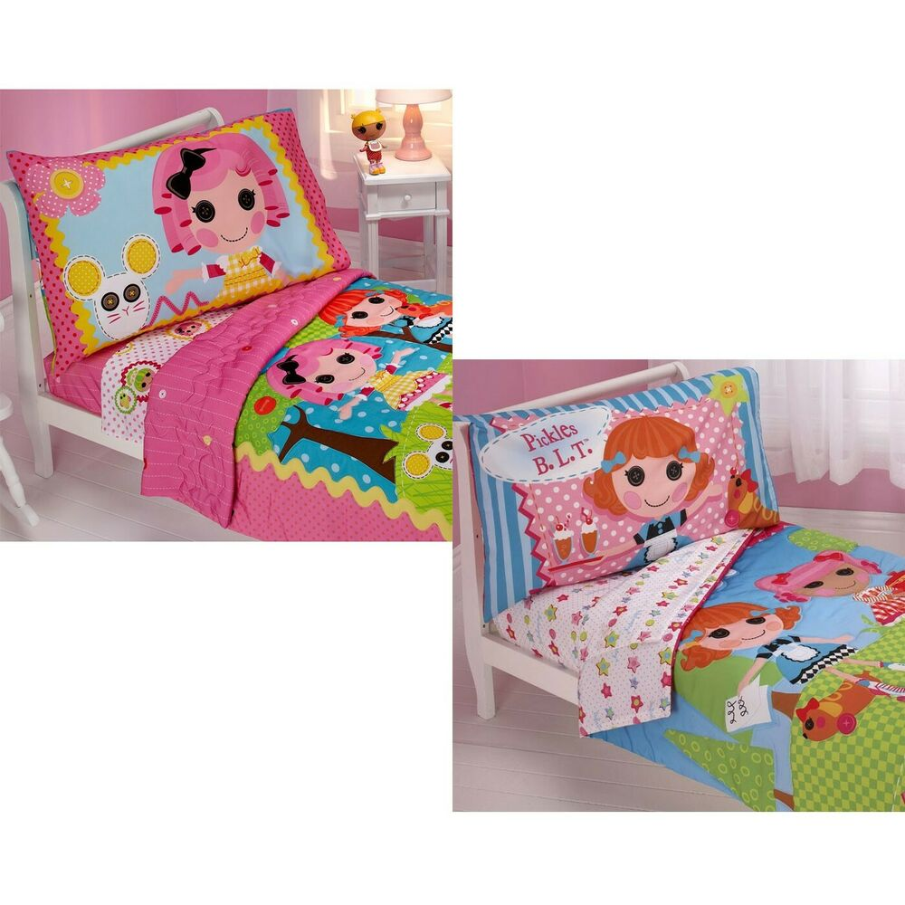 innovative toddler girl bedroom sets | LALALOOPSY TODDLER BEDDING SET - Girls Cute Nursery ...