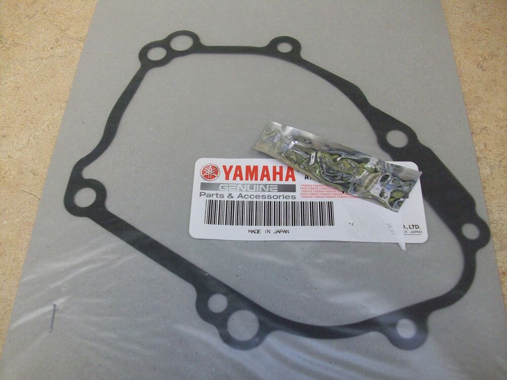 Yamaha yzfr1 r1 new oem stator generator ignition cover for Yamaha oem part