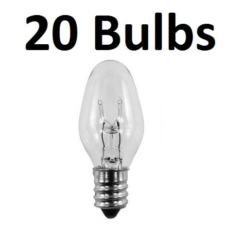20 pack light bulbs 15w for scentsy plug in warmer wax. Black Bedroom Furniture Sets. Home Design Ideas