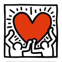 Untitled, c.1988 Art Print By Keith Haring - 12x12