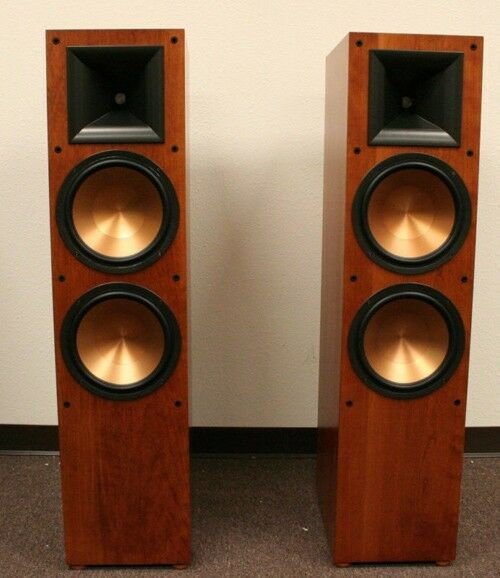 klipsch speakers rf 7ii b veneer open box price is a pair. Black Bedroom Furniture Sets. Home Design Ideas