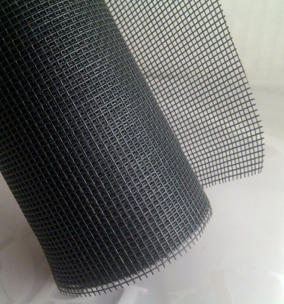 New york wire 24 x 10 39 black mesh for window and door for Screen new window