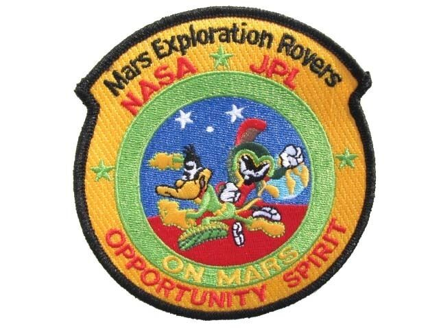 Mars Exploration Rovers NASA JPL Marvin Martian Duck ...