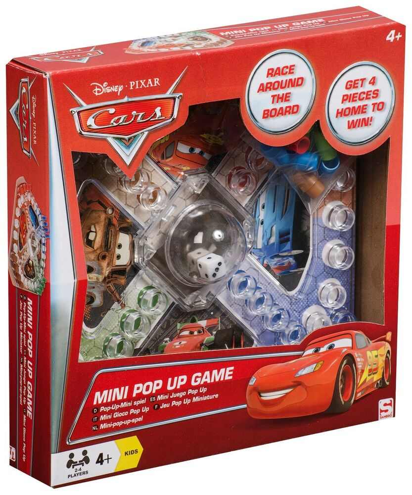 Best Disney Toys And Games For Kids : New disney cars mini pop up board game kids boys fun