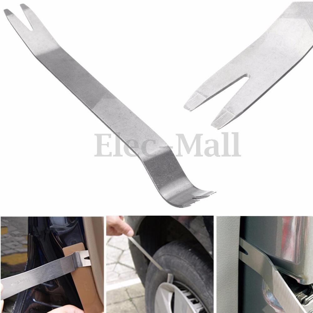 metal car removal pry tool kit trim door clip panel dash audio radio interior hq ebay. Black Bedroom Furniture Sets. Home Design Ideas