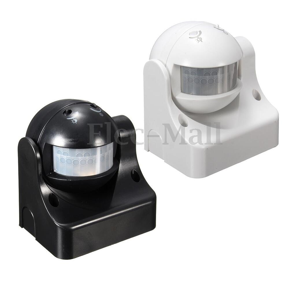 automatic external 180 degree security pir motion light. Black Bedroom Furniture Sets. Home Design Ideas