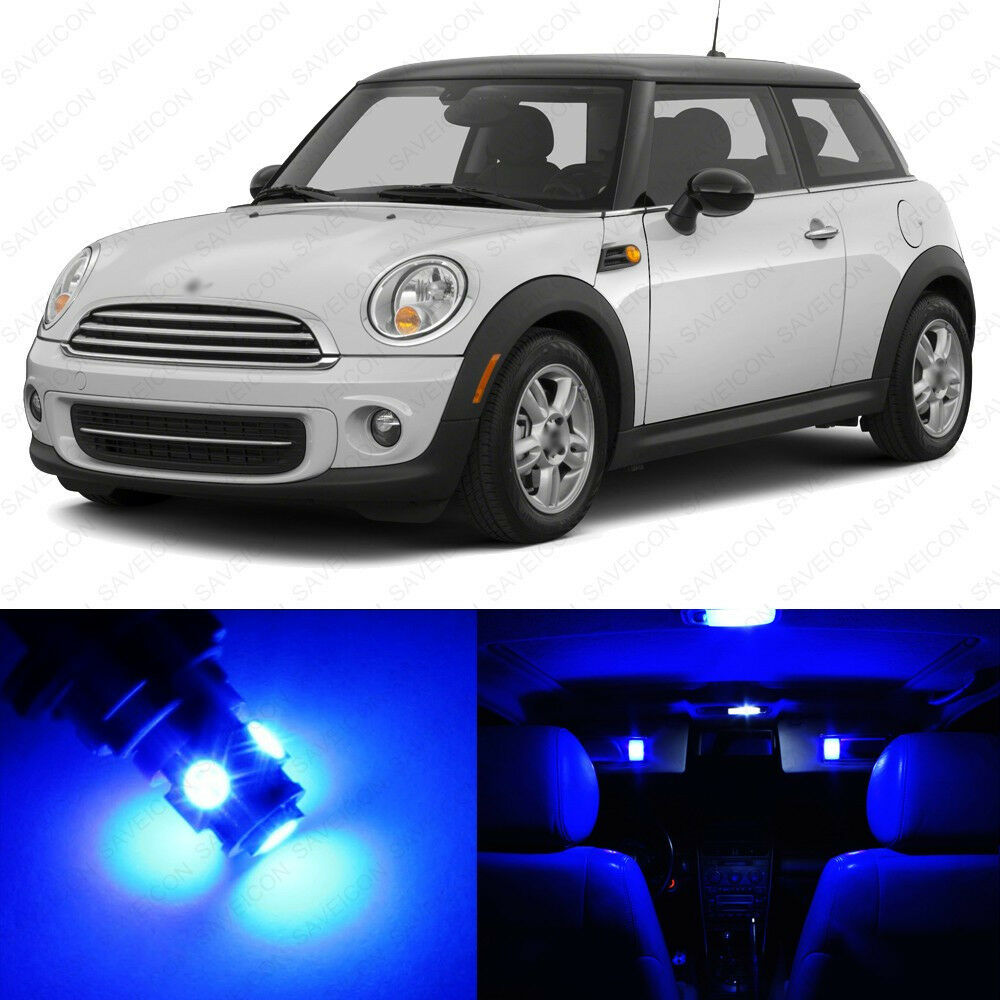 2012 Mini Hardtop Camshaft: 11 X Blue LED Lights Interior Package For Mini Cooper S