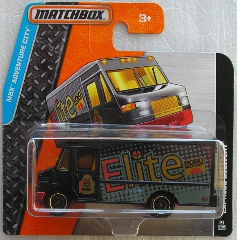 Matchbox Diecast Adventure City 2015 Express Delivery New