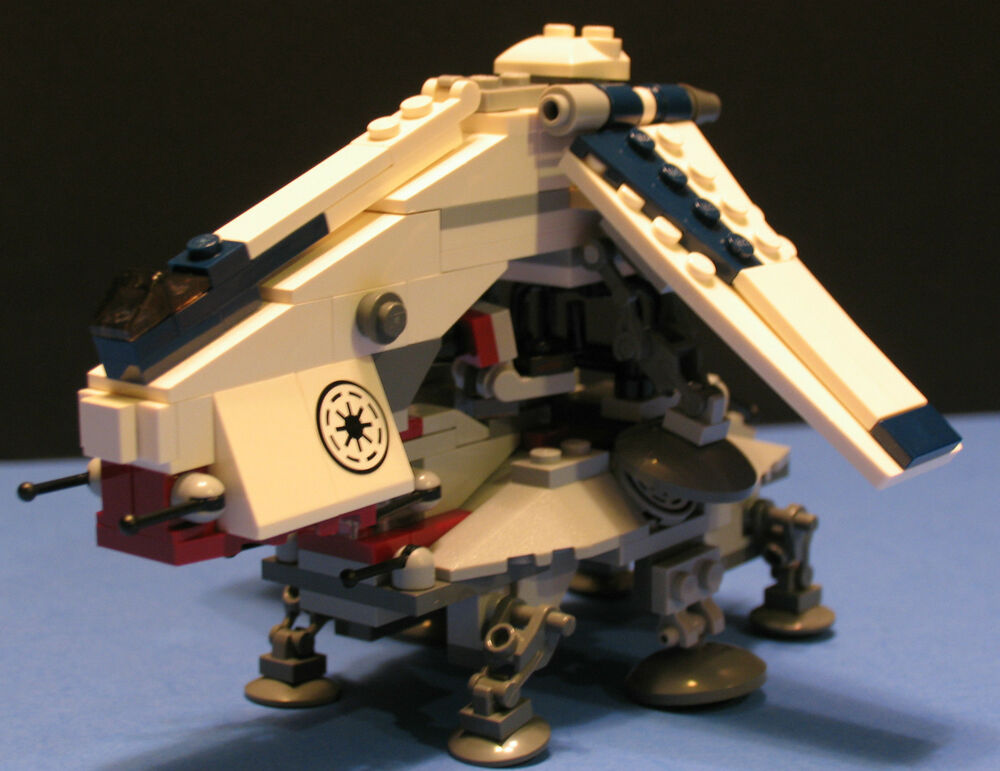 Lego Brick Star Wars Mini Republic Dropship At Te Custom Set