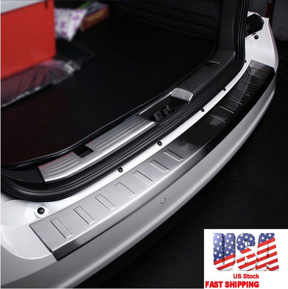 Stainless Steel Rear Bumper Protector Sill Plate Cover for Ford Edge  2008-2014 611559446968 | eBay