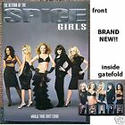 THE SPICE GIRLS RETURN OF TOUR 2007 2008 BOOK PROGRAM NEW OFFICIAL