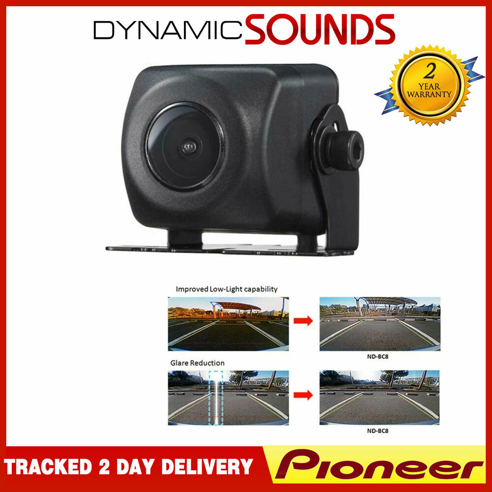 pioneer nd bc8 rear view reverse camera for avh x490dab avh x390bt ebay. Black Bedroom Furniture Sets. Home Design Ideas