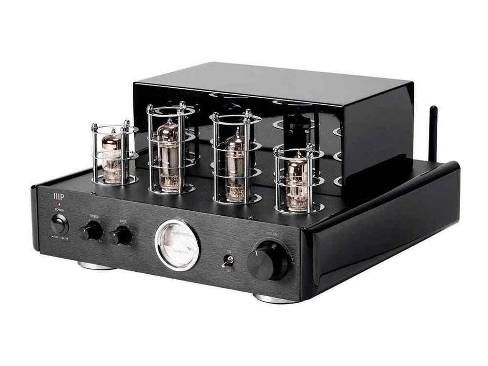 50 Watt Stereo Hybrid Tube Amplifier with Bluetooth & Line ...