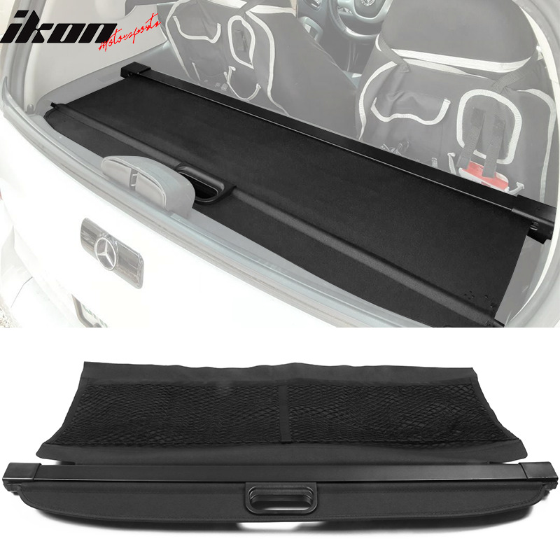 Details About Fits 08 15 Smart Fortwo Oe Retractable Rear Cargo Security Trunk Cover Black