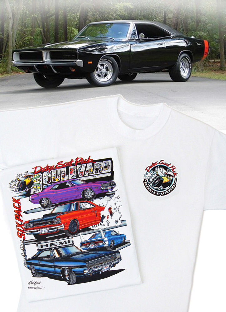 Charger Rt Dodge Charger R T Dodge Black Tires Muscle: Dodge Scat Pack Blvd. T-Shirt