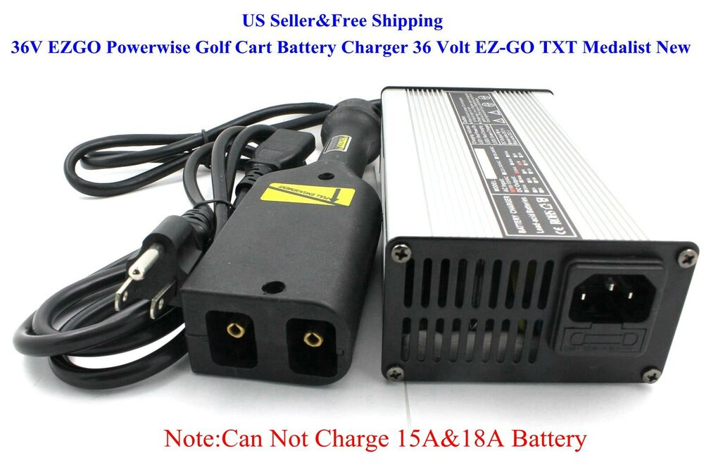 Us 36v Ezgo Powerwise Golf Cart Battery Charger 36 Volt  U0026quot D U0026quot  Style Ez