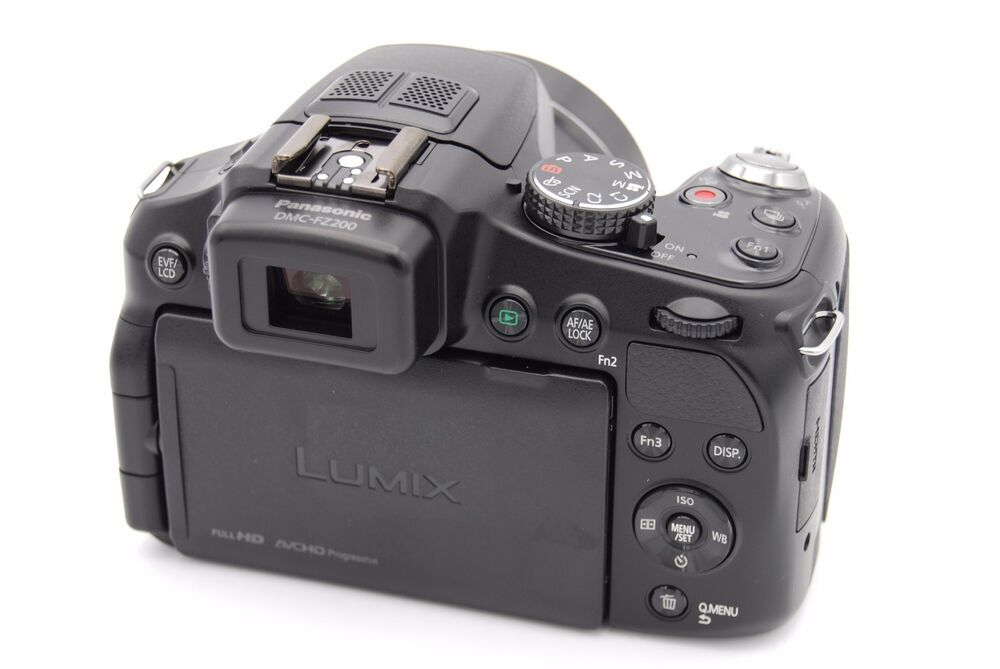 panasonic lumix dmc fz200 digital camera black no battery 885170087804 ebay. Black Bedroom Furniture Sets. Home Design Ideas