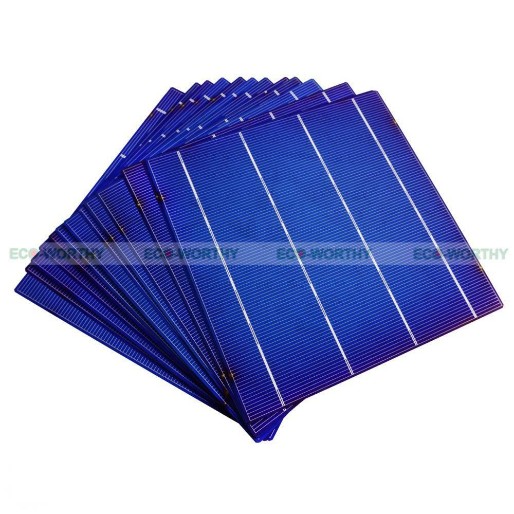 100x 6x6 Quot 4 3w Each Solar Cell Cells High Power Diy For
