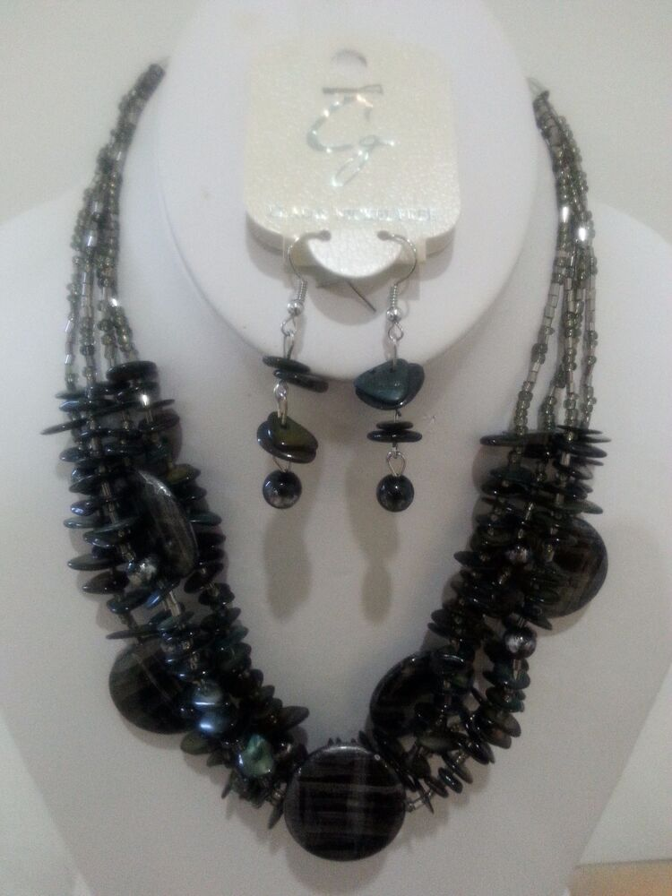 WHOLESALE LOT 5 SETS HIGH END QUALITY COSTUME JEWELRY ...