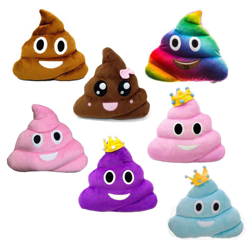 poop emoji pillow poo plush toy stuffed funny quality emoticon shopee cute doll princess inch cushion soft toys pillows allow