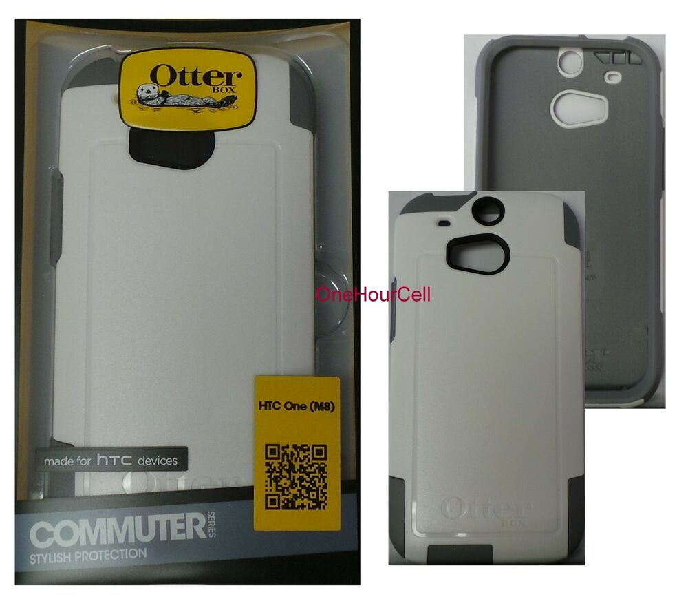 OtterBox Commuter Series Case for HTC One M8, Glacier, 77 ...