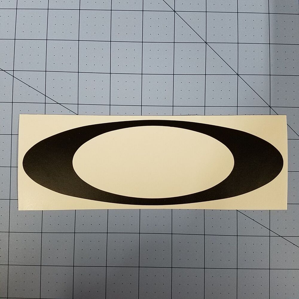 "Oakley ""O"" Logo Decal Sticker Multiple Color Golf Vault ..."