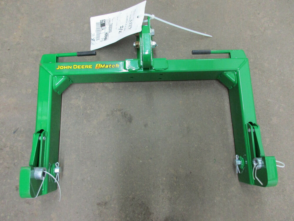 Tractor Quick Hitch Parts : John deere compact tractor imatch quick hitch category