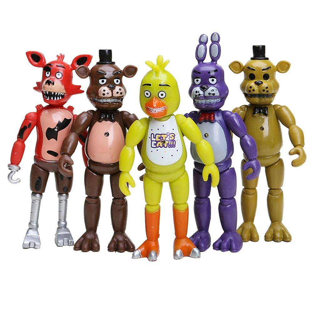5 Nights At Freddy Toys : Pcs five nights at freddy s fnaf action figures with