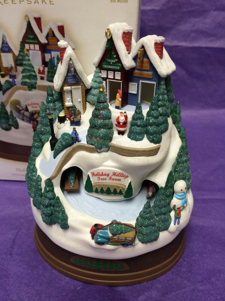 Hallmark 2009- Holiday Hilltop Tree Farm-Ornament -MAGIC ...