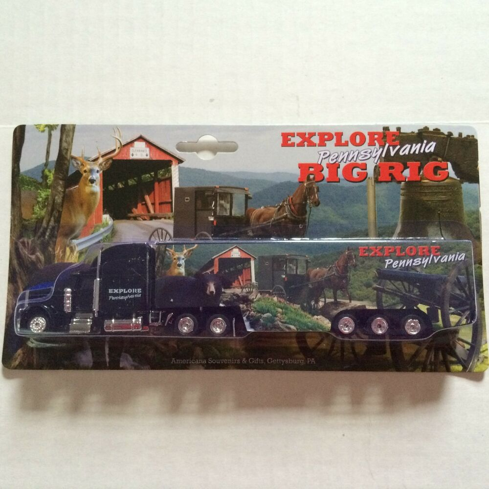 Toy Tractor Trailer Trucks : Pennsylvania truck explore pa big rig toy tractor trailer