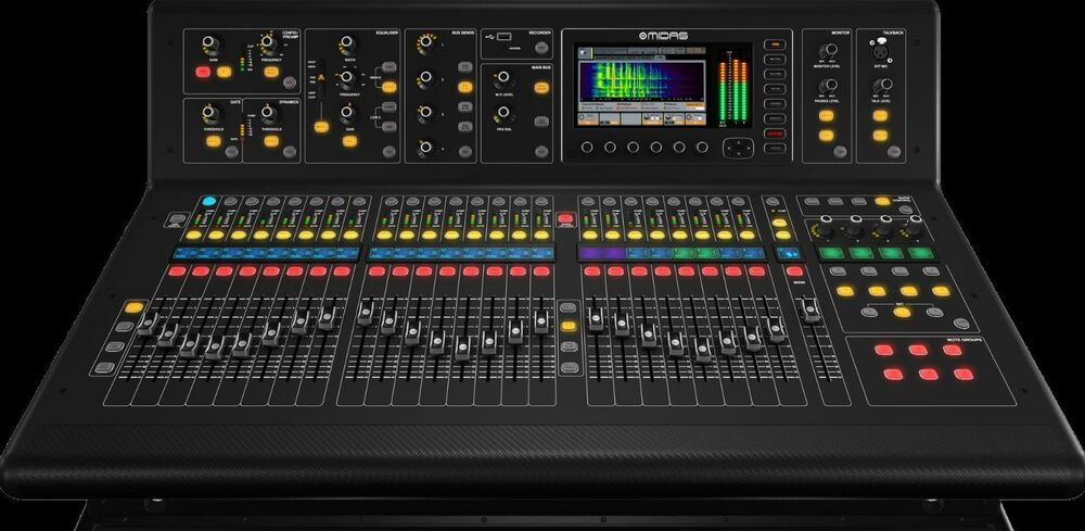 midas m32 digital console live studio 40 input channel mixing board mixer ebay. Black Bedroom Furniture Sets. Home Design Ideas