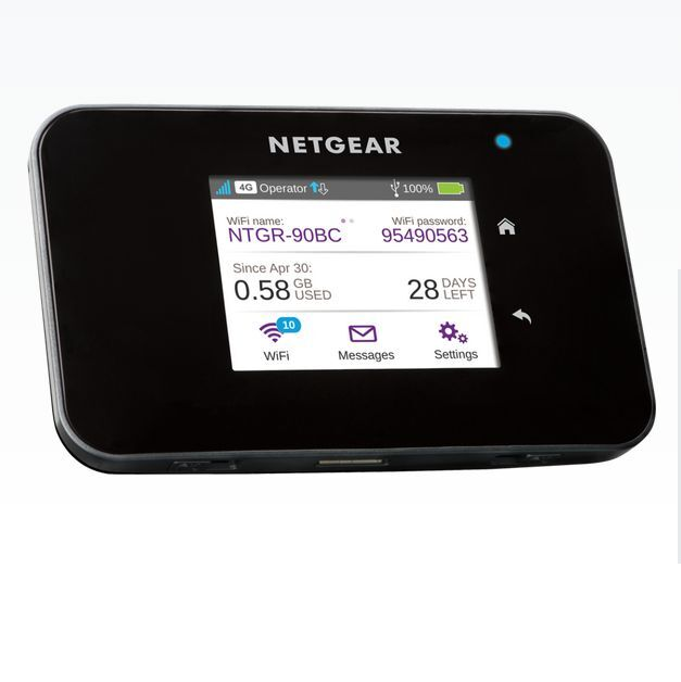 unlocked netgear aircard 810s 4g lte cat 11 wifi mobile. Black Bedroom Furniture Sets. Home Design Ideas
