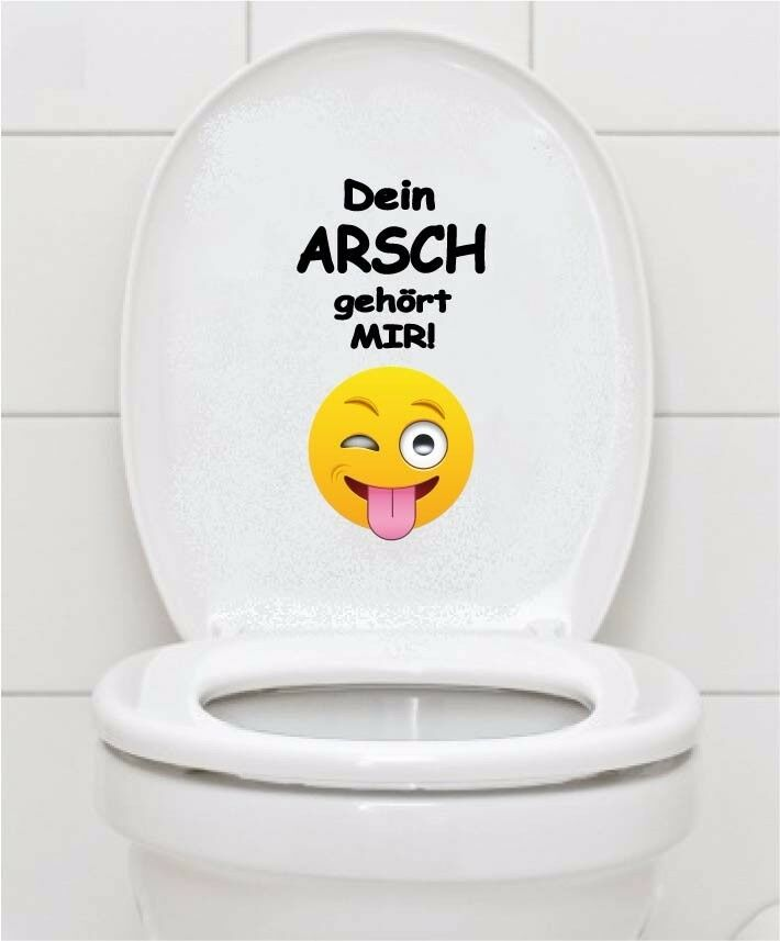 wc aufkleber smilie emoji smiley toilette badezimmer fliesen bad wandtattoo a070 ebay. Black Bedroom Furniture Sets. Home Design Ideas