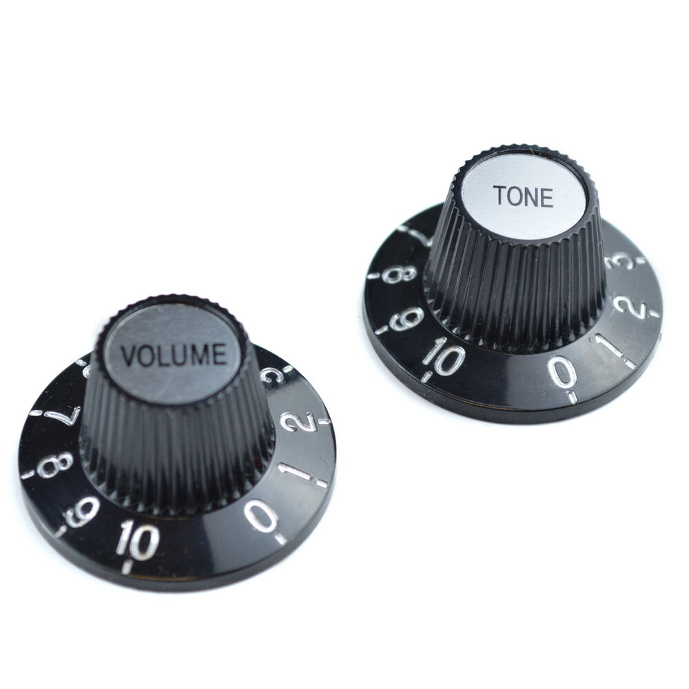 2 witches hat volume tone guitar knobs for gibson epiphone 5060464364860 ebay. Black Bedroom Furniture Sets. Home Design Ideas