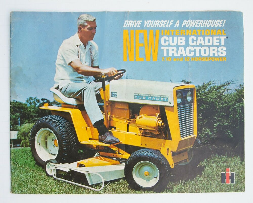 102 Cub Cadet Schematics Example Electrical Wiring Diagram 128 1966 Ih 20 Page Brochure 71 122 Ad 2399 Decals